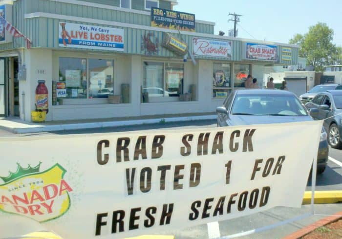 Crab Shack, Brogantine, New Jersey