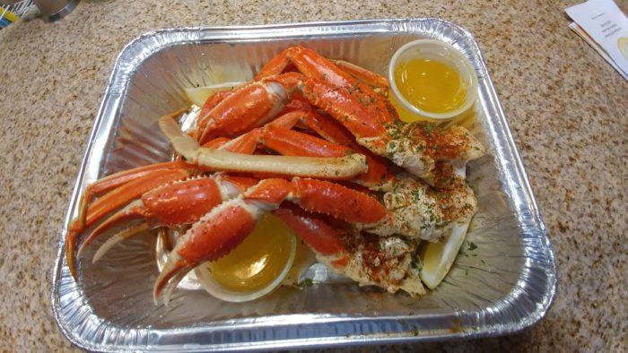 Snow Crab Legs At Crab Shack Brigantine