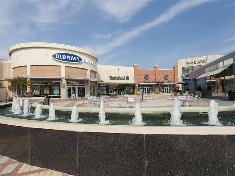 premium outlet shopping