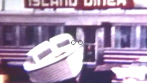 Brigantine Storm of 1962. Film Clips by Lou Barone