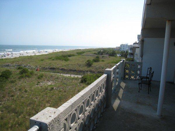 Brigantine Beach View From Seagull Motel