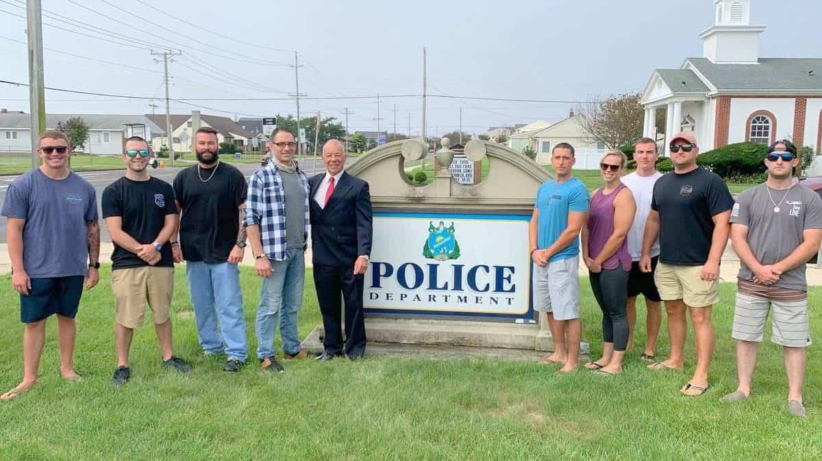 "Joe ""Tokyo"" O'Donoghue for Sheriff. Brigantine Police PBA Local 204"