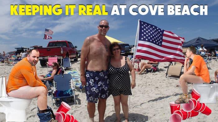 cove brigantine 4x4 suv beach